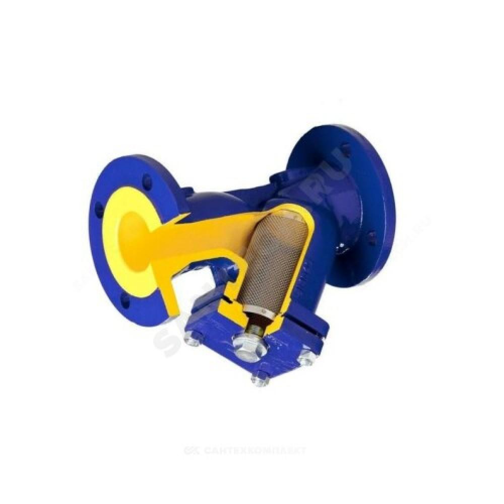 Фильтр магнитный сетчатый Y-образный чугун Ду 32 Ру16 Тмакс=300 oC фл 821А со сливной пробкой Zetkama 821A032C70