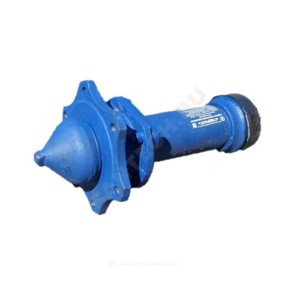 Гидрант пожарный подземный чугун 2000 мм Ру10 синий ГИДРОПРОМ-СПБ