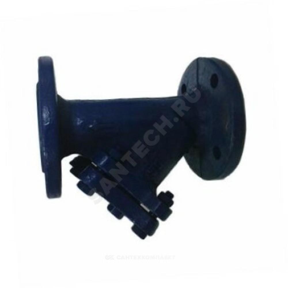 Фильтр сетчатый Y-образный чугун Ду 80 Ру16 фл ФСФ Мегастрой