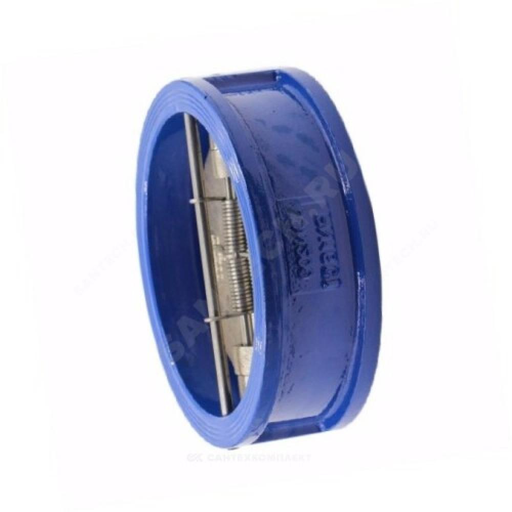 Клапан обратный чугун 2/створ Ду 50 Ру16 Тмакс=130 оС межфланцевый створки чугун  02.020.16.050