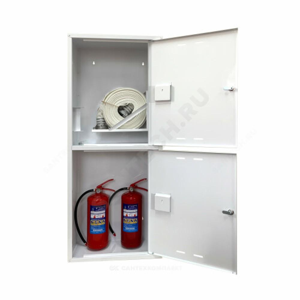 Шкаф пожарный белый ШПК 320 НЗБ универсальный ФАЭКС
