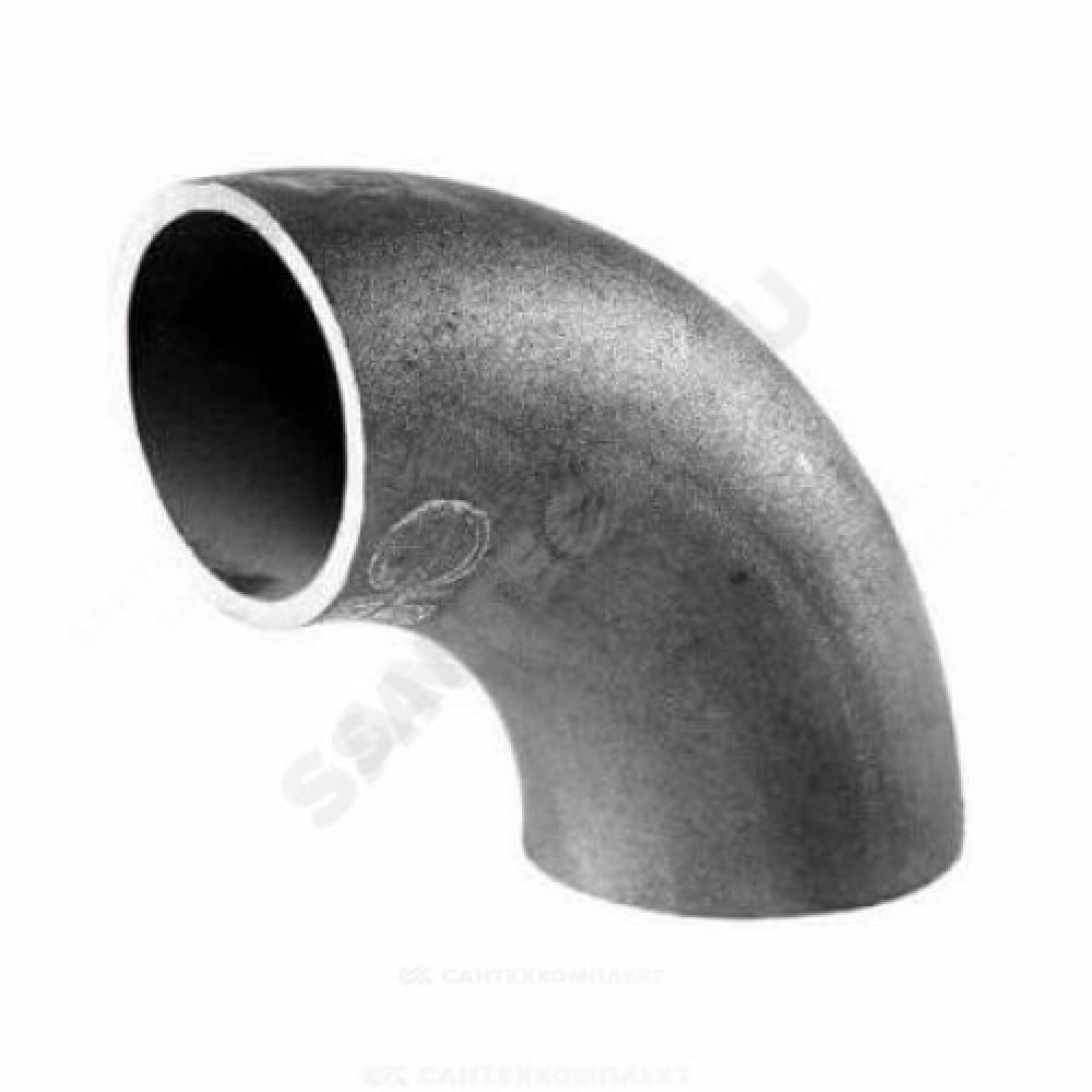 Отвод стальной шовный крутоизогнутый 90гр Дн 133х3,5 (Ду 125) под приварку