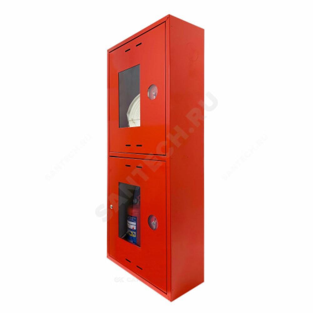 Шкаф пожарный красный ШПК 320 НОК универсальный ФАЭКС