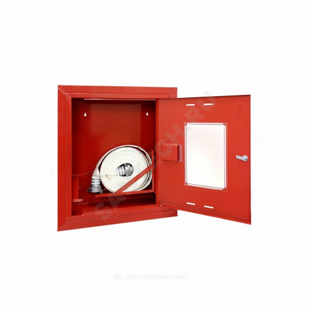 Шкаф пожарный красный ШПК 310 ВОК универсальный эконом ФАЭКС