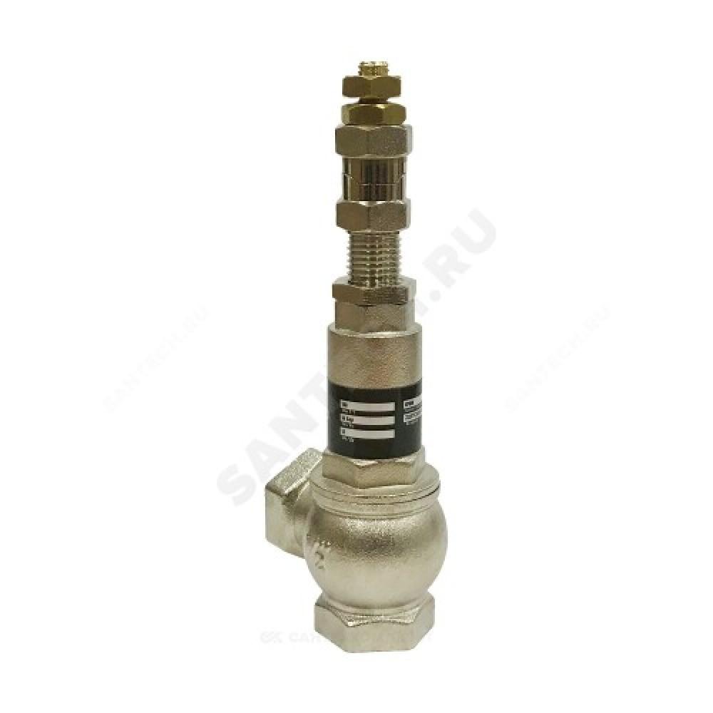 Клапан предохранительный латунь Ду15х15 Ру16 ВР/ВР Рн=1...16бар Benarmo