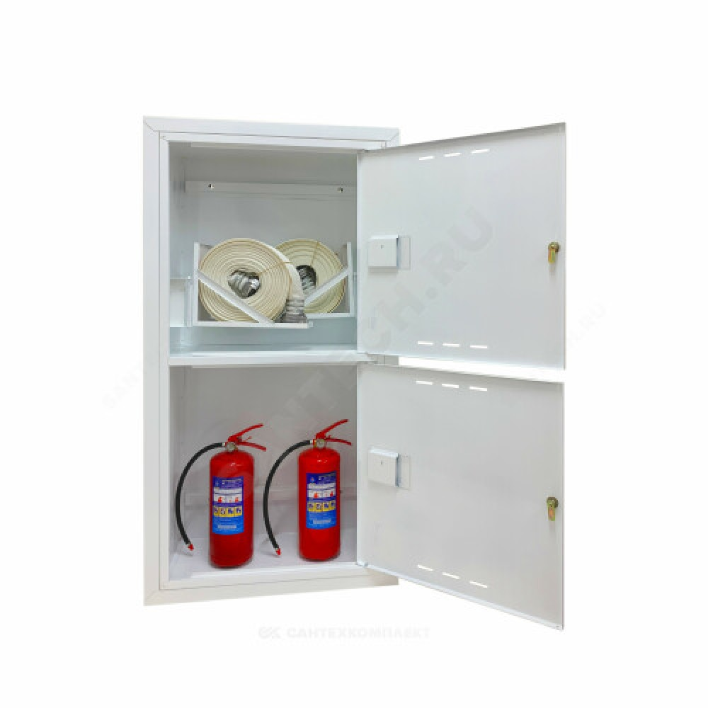 Шкаф пожарный белый ШПК 320-12 ВЗБ ФАЭКС