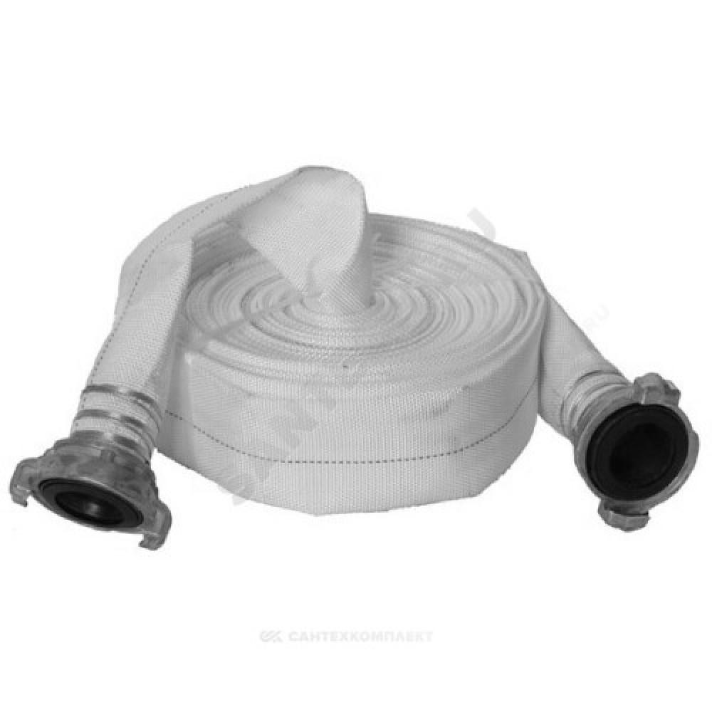 Рукав пожарный 50 мм РПК(В)-Н/В-50-1,0-УХЛ1 в комплекте головка и ствол ГР-50П и РС-50,01П 20+-1 м Берег
