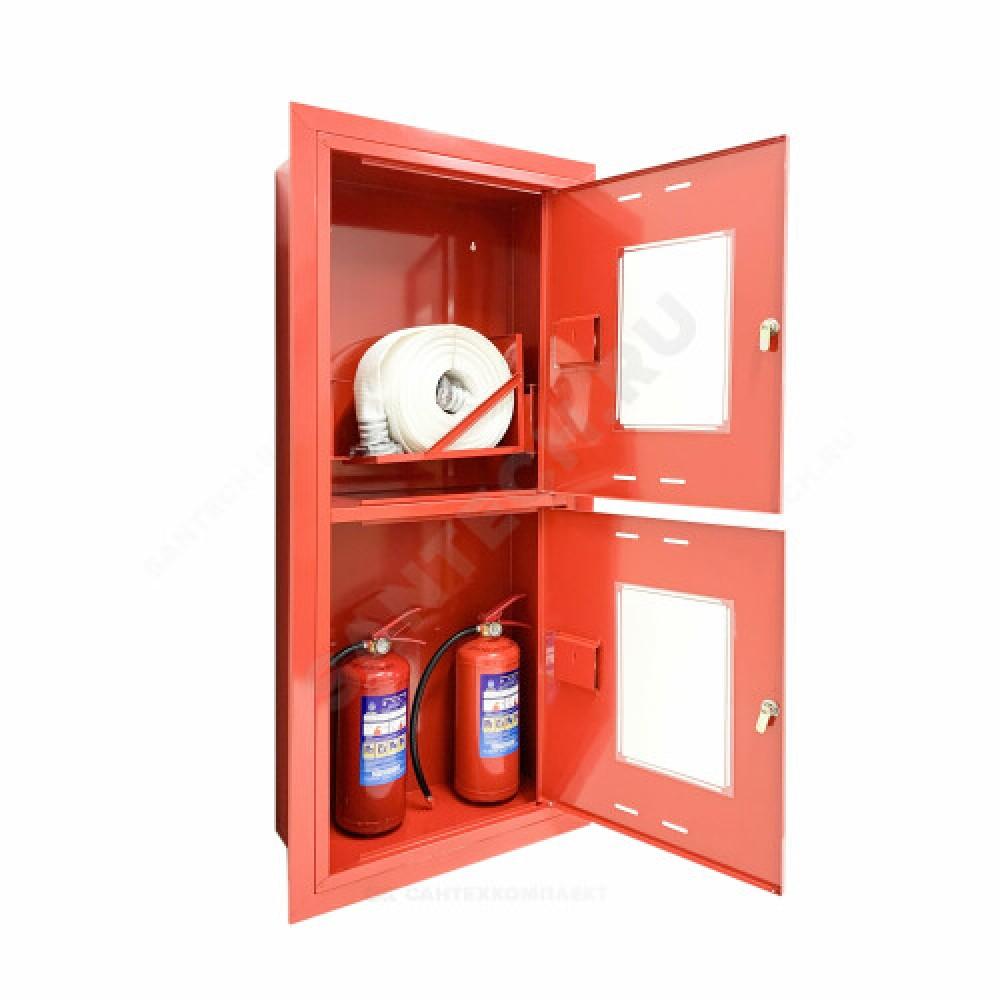 Шкаф пожарный красный ШПК 320 ВОК универсальный ФАЭКС