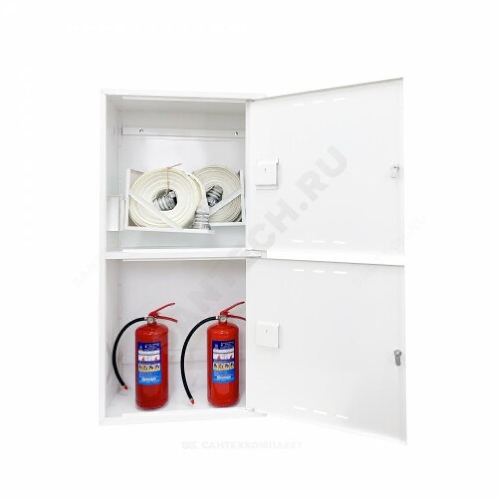 Шкаф пожарный белый ШПК 320-12 НЗБ ФАЭКС