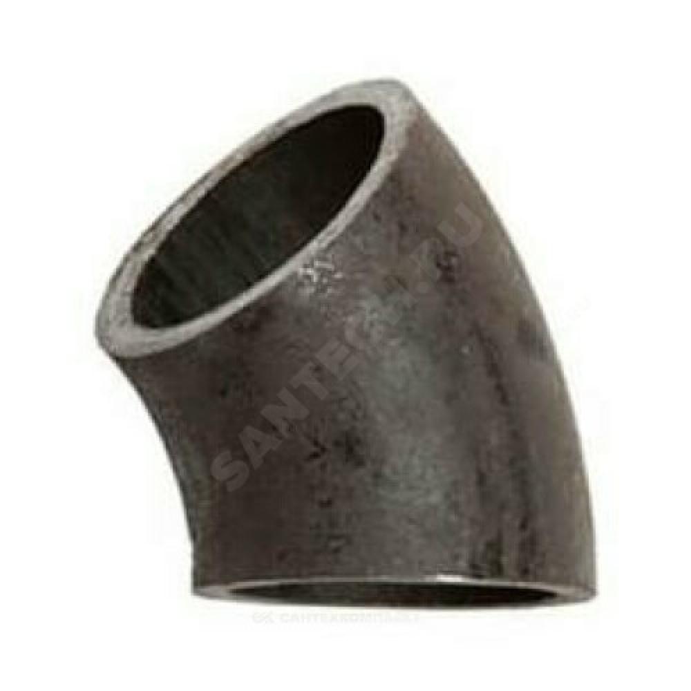 Отвод стальной 09Г2С бесшовный крутоизогнутый 45гр Дн 426х10,0 (Ду 400) под приварку ГОСТ 30753-2001