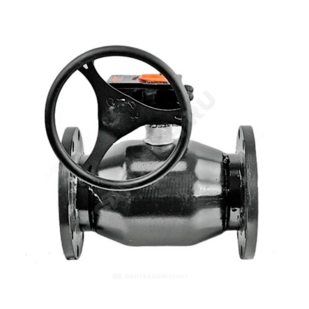 Кран шаровой стальной 11с67п Ду 65 Ру16 фланцевый полнопроходной FORTECA 193.1.065.016
