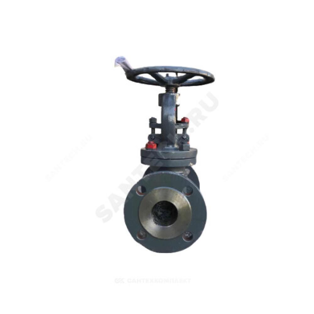 Клапан запорный стальной 15с22нж Ду 125 Ру40 фланцевый Россия