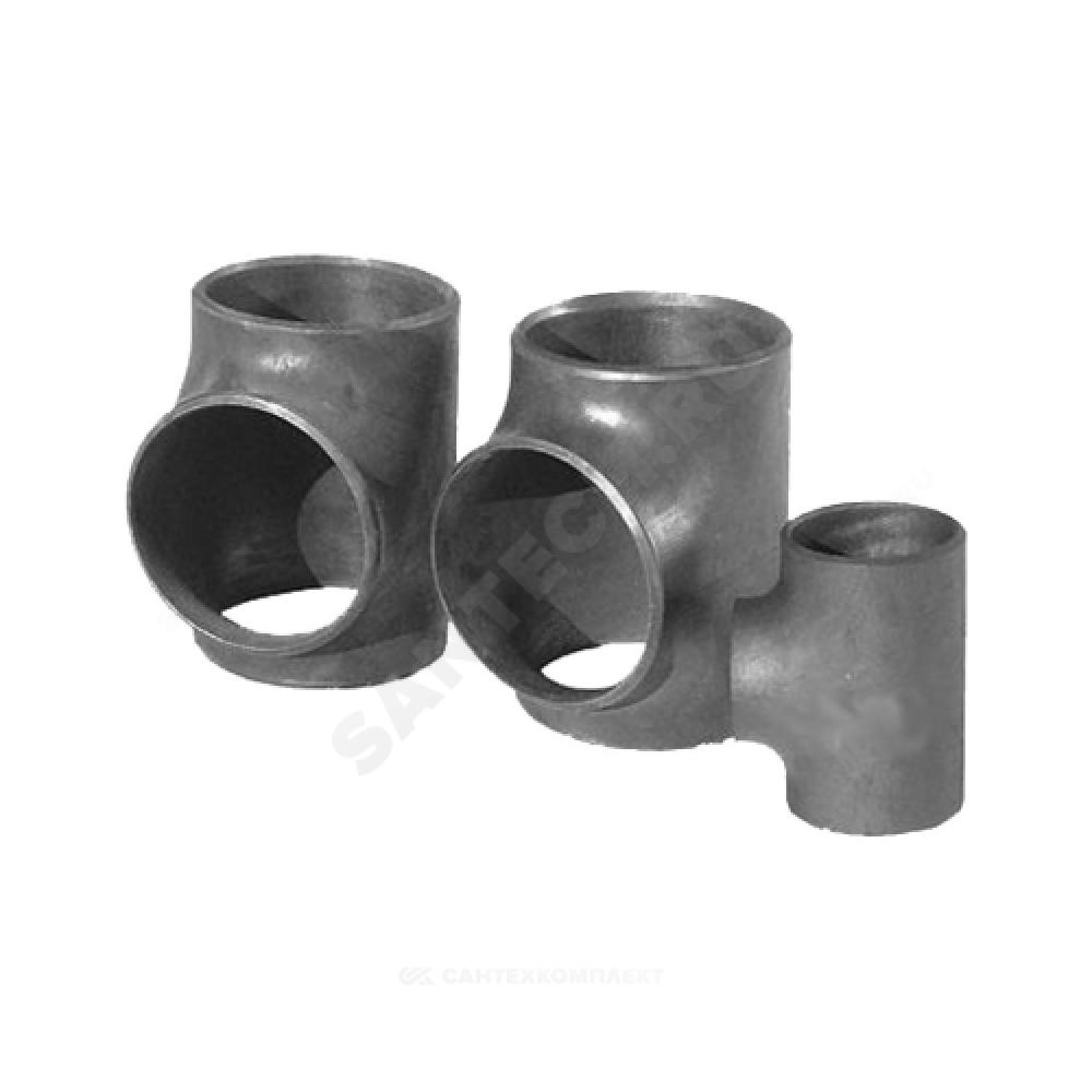 Тройник стальной равнопроходной Дн 45х2,5 (Ду 40) бесшовный под приварку ГОСТ 17376-2001