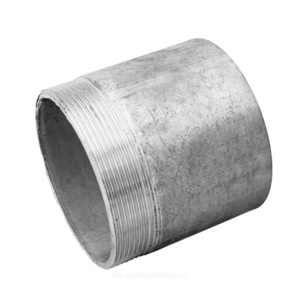 Резьба стальная  оцинкованный Ду 32 L=30мм из труб по ГОСТ 3262-75