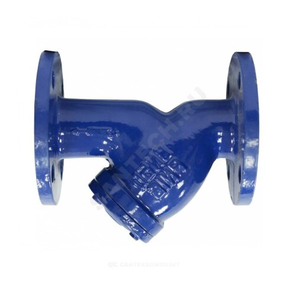 Фильтр магнитный сетчатый Y-образный чугун Ду 100 Ру16 Тмакс=150 oC фл ФМФч 01.040.16.100
