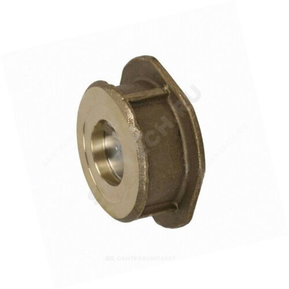 Клапан обратный латунь осевой CA7441 Ду 80 Ру16 Тмакс=120 оС межфланцевый диск нерж Tecofi CA7441-0080
