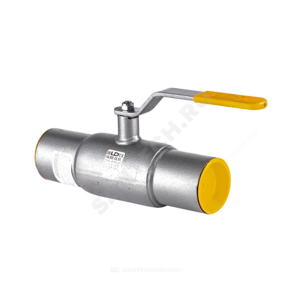 Кран шаровой стальной КШ.Ц.П Ду 125 Ру25 под приварку LD КШ.Ц.П.125/100.025.Н/П.02