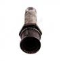Сгон стальной оцинкованный Ду 15 L=110мм в комплекте ГОСТ 8969-75
