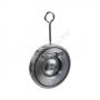 Клапан обратный сталь 1/створ CB5440 Ду 200 Ру16 Тмакс=110 оС межфланцевый оцинкован тарелка сталь Tecofi CB5440-0200