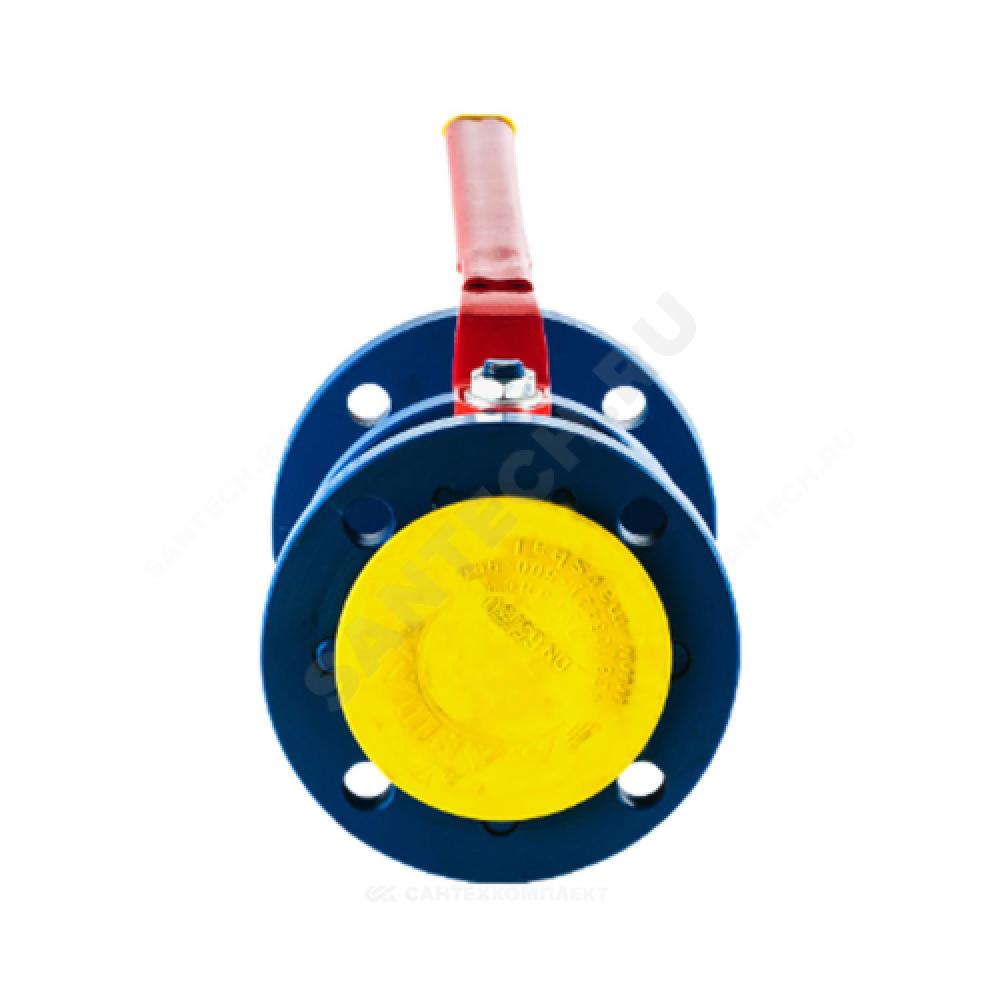 Кран шаровой стальной 11с67п Ду 200 Ру16 фланцевый Маршал 2СФ.00.1.016.200/150