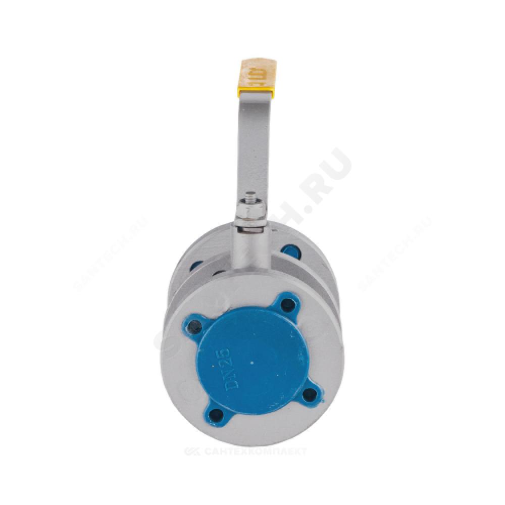 Кран шаровой стальной 11с67п Ду 25 Ру16 фланцевый полнопроходной LD КШ.Р.Ф.025.016.П/П.02