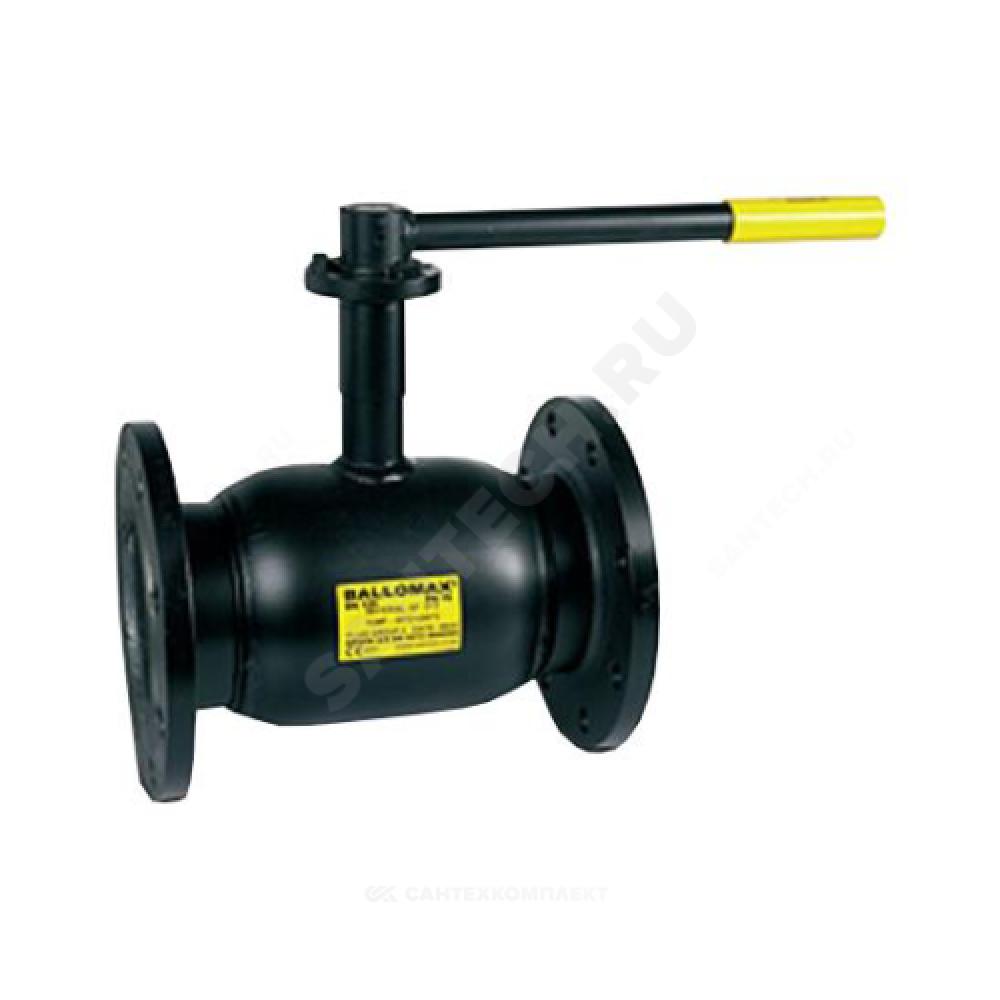 Кран шаровой стальной Ballomax КШТ 60.113 Ду 25 Ру40 фланцевый полнопроходной BROEN КШТ 60.113.025.А.40