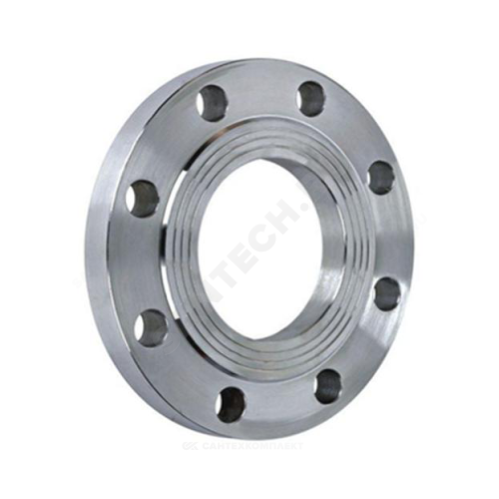 Фланец стальной плоский Ду 50 Ру6 тип 01 ряд 1 исп. B ГОСТ 33259-2015