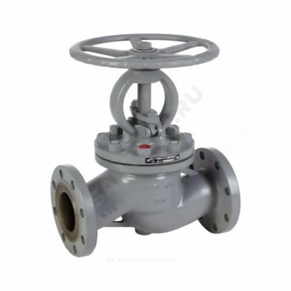 Клапан запорный стальной 15с22нж Ду 32 Ру40 Тмакс=425 оС фланцевый  .