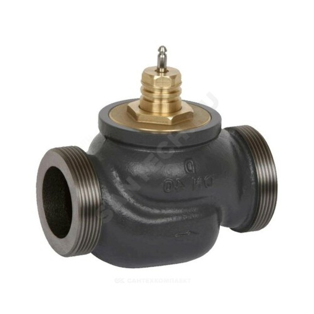 """Клапан регулирующий чугун VRG2 Ду 40 Ру16 НР G2 1/4"""" Kvs=25м3/ч Danfoss 065Z0139"""