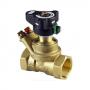 Клапан балансировочный ручной латунь MSV-BD Ду 32 Ру20 ВР Kvs=18м3/ч с изм/нип Danfoss 003Z4004 .