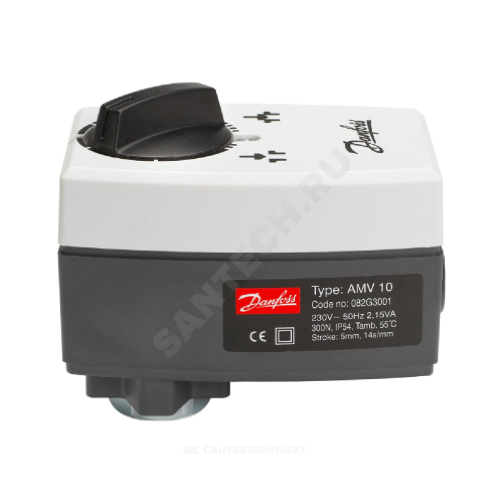 Электропривод 3-х позиц AMV 10 . Danfoss 082G3001