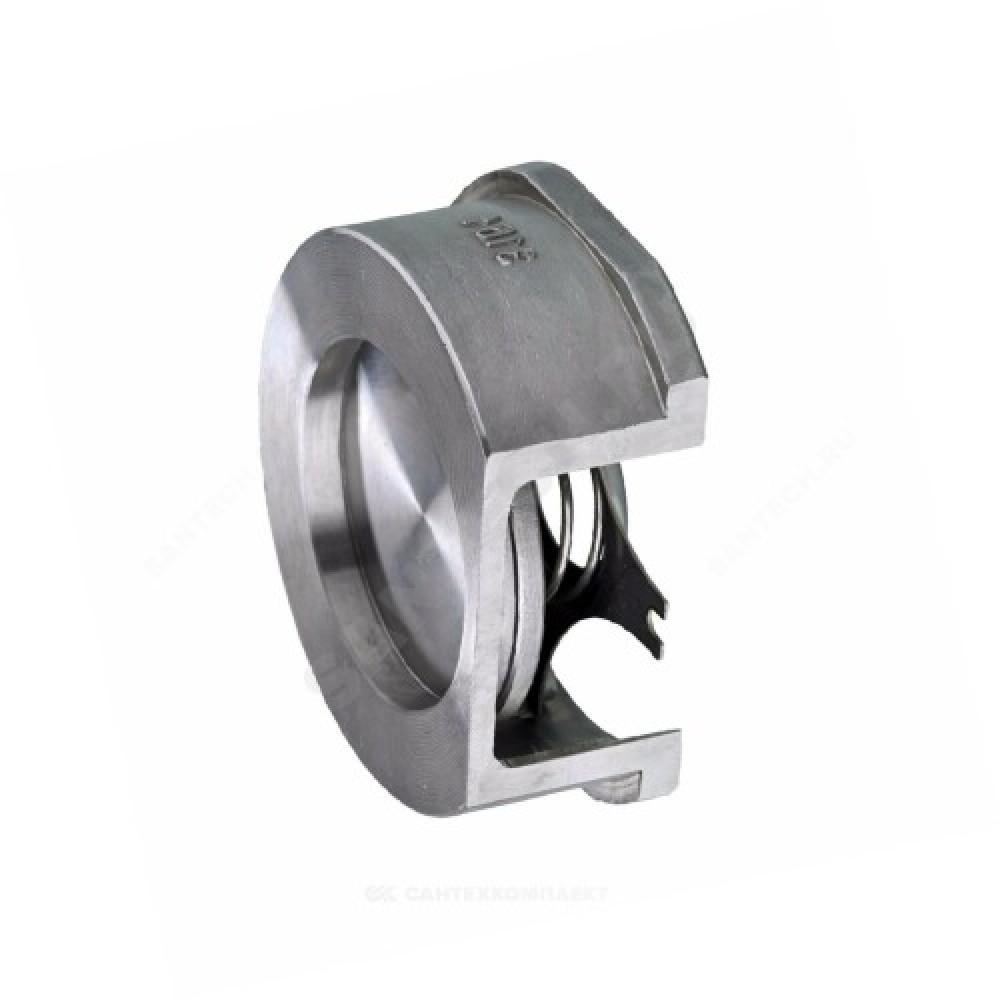Клапан обратный нерж осевой 275I Ду 25 Ру40 Тмакс=300 оС межфланцевый диск нерж Zetkama 275I025E51