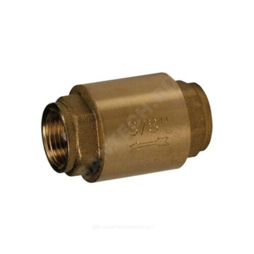 "Клапан обратный латунь осевой R60 Ду 25 Ру35 Тмакс=110 оС ВР G1"" диск металл Giacomini R60Y035"