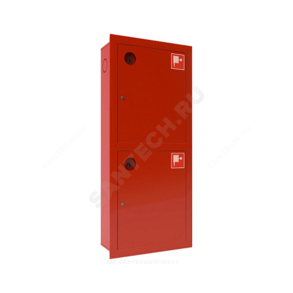Шкаф пожарный красный ШПК-320 ВЗК левый