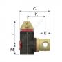 """Сепаратор пластик Flamcovent Smart Ду 32 Ру10 G1 1/4"""" ВР горизонт 1 1/4"""" Flamco 30004"""