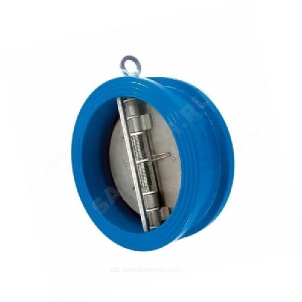 Клапан обратный чугун 2/створ CB3449 Ду 50 Ру16 Тмакс=110 оС межфланцевый створки нерж Tecofi CB3449-EPA0050