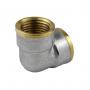 Угольник лат Ду20 м/м никель Aquasfera 9001-02