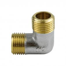 Угольник лат Ду15 р/р никель Aquasfera 9003-01