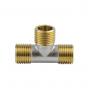 Тройник лат Ду25 р/р/р никель Aquasfera 9010-03