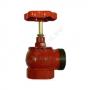 Клапан пожарный чугунный угловой 90 гр КПЧМ 65-1 Ду 65 1,6 МПа муфта-цапка с датчиком положения ДППК 27 Апогей 110032