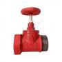 Клапан пожарный чугунный прямой КПЧП 50-1 Ду 50 1,6 МПа муфта-цапка Апогей 110033