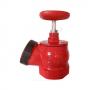 Клапан пожарный чугунный угловой 125 гр КПК 50-1 Ду 50 1,6 МПа муфта-цапка Апогей 110037