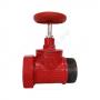 Клапан пожарный чугунный прямой КПКП 50-1 Ду 50 1,6 МПа муфта-цапка Апогей 110049