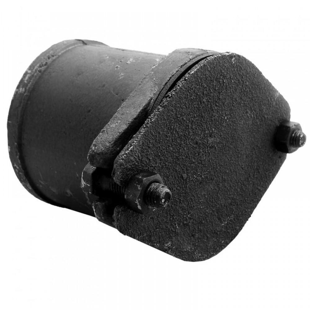 Заглушка чугун канализационная Ду 100 б/н прямая ДПК