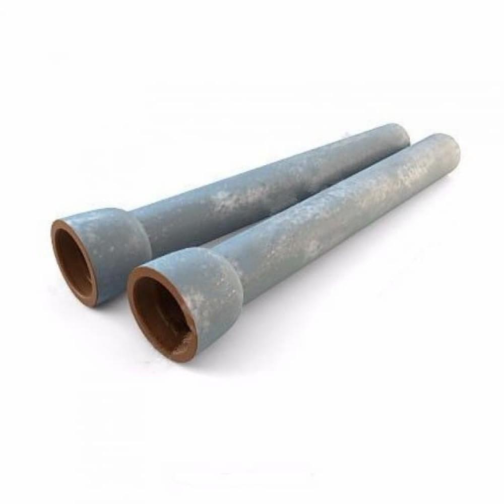 Труба чугун ВЧШГ Тайтон Ду 500 L=6м раструбная с ЦПП с наружным цинковым и лаковым покрытием Свободный Сокол
