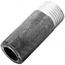 Резьба стальная  удлиненная Ду 15 L=50мм из труб по ГОСТ 3262-75