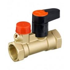 Клапан запорный ручной латунь MSV-S Ду 15 Ру20 ВР Kvs=3м3/ч б/ниппелей Danfoss 003Z4011