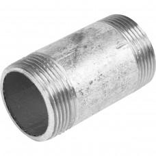 Бочонок стальной оцинкованный Ду 15 L=45мм из труб по ГОСТ 3262-75
