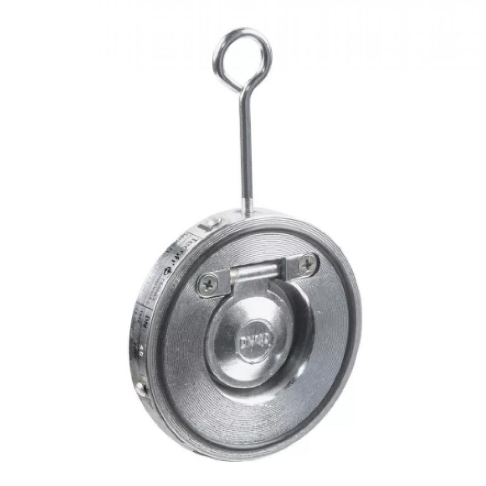 Клапан обратный сталь 1/створ CB5440 Ду 125 Ру16 Тмакс=110 оС межфланцевый оцинкован тарелка сталь Tecofi CB5440-0125