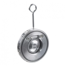 Клапан обратный сталь 1/створ CB5440 Ду 40 Ру16 Тмакс=110 оС межфланцевый оцинкован тарелка сталь Tecofi CB5440-0040